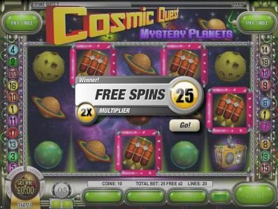 Play slots at Box24: Box24 featuring the Video Slots Cosmic Quest Mystery Planets with a maximum payout of $12,500