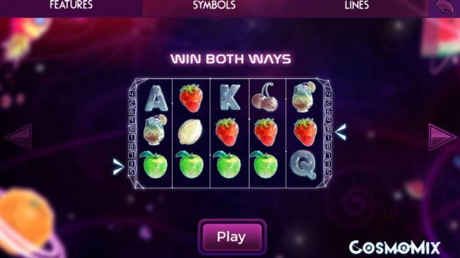 Cosmomix :: Win Both Ways