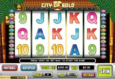 Intertops Classic featuring the Video Slots Coty of Gold with a maximum payout of $60,000