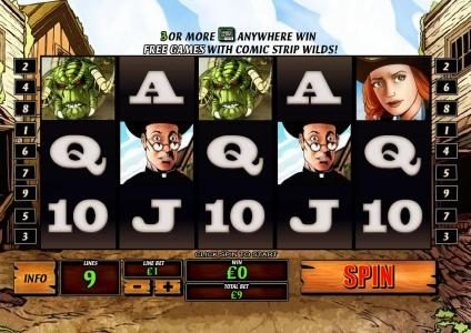 Carnival featuring the Video Slots Cowboys & Aliens with a maximum payout of $1,000,000