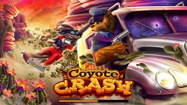 Play slots at Lucky Dino: Lucky Dino featuring the Video Slots Coyote Crash with a maximum payout of $2,500,000