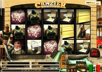 Play slots at Casino Kaiser: Casino Kaiser featuring the Video Slots Crazier Jewelry with a maximum payout of $125,000