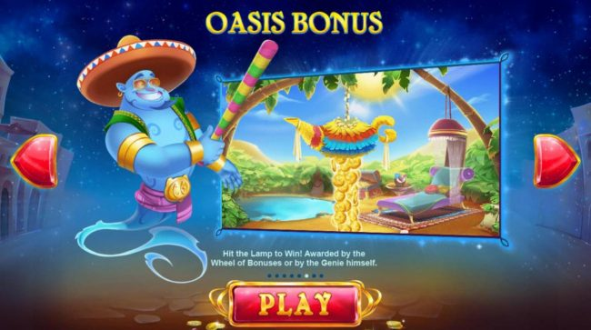 Shadowbet featuring the Video Slots Crazy Genie with a maximum payout of $7,500