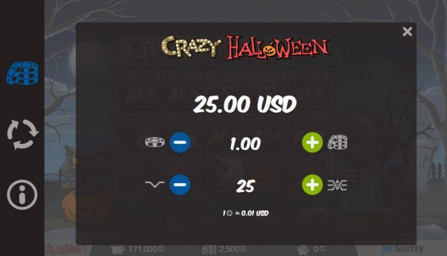 Play slots at Spintropolis: Spintropolis featuring the Video Slots Crazy Halloween with a maximum payout of $200,000