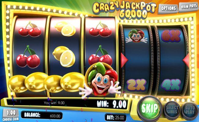 Crazy Jackpot 60,000 :: Winning lemon symbols