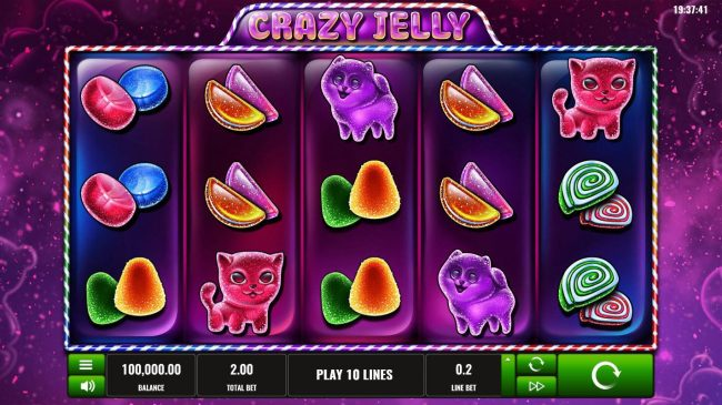 Play slots at betmaster: betmaster featuring the Video Slots Crazy Jelly with a maximum payout of $500