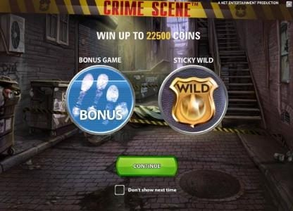 Play slots at Slots Magic: Slots Magic featuring the Video Slots Crime Scene with a maximum payout of $7,500