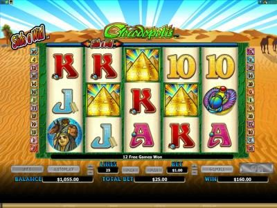 Grand Mondial featuring the Video Slots Crocodopolis with a maximum payout of $15,000