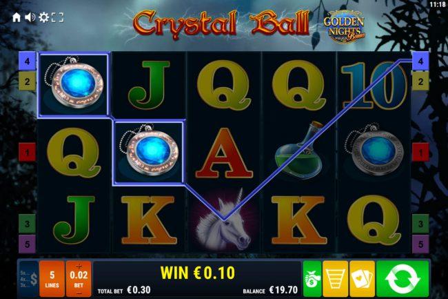 Crystal Ball Golden Nights Bonus :: Two of a Kind
