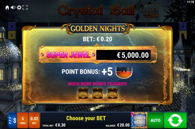 Crystal Ball Golden Nights Bonus :: Extra Bet