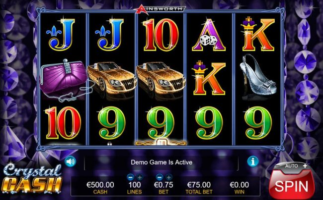 Play slots at Jaak Casino: Jaak Casino featuring the Video Slots Crystal Cash with a maximum payout of $7,500