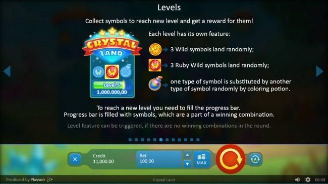 Play slots at Magik Slots: Magik Slots featuring the Video Slots Crystal Land with a maximum payout of $500,000