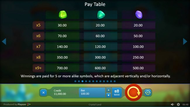 Crystal Land :: Low Value Symbols