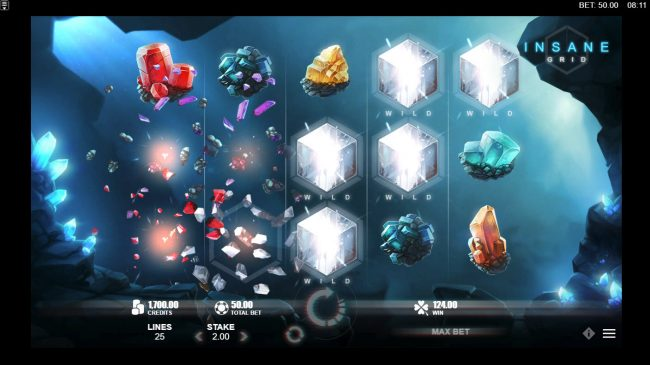 Yeti Casino featuring the Video Slots Crystal Rift with a maximum payout of $50,000