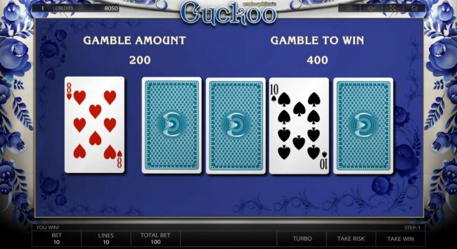 Bonanza featuring the Video Slots Cuckoo with a maximum payout of $500,000