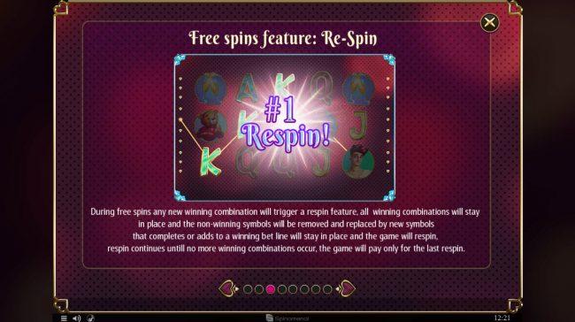 Cupids' Strike :: Free Spins Rules