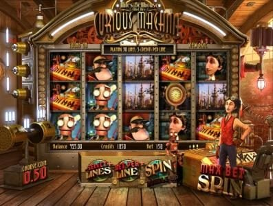 Play slots at Planet Casino: Planet Casino featuring the Video Slots Curious Machine with a maximum payout of 2500x