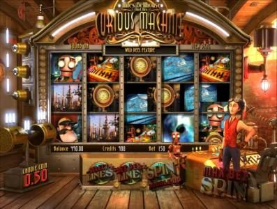 21 Grand featuring the Video Slots Curious Machine with a maximum payout of 2500x