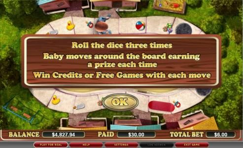 Hello featuring the video-Slots Dad's Day In with a maximum payout of $120,000