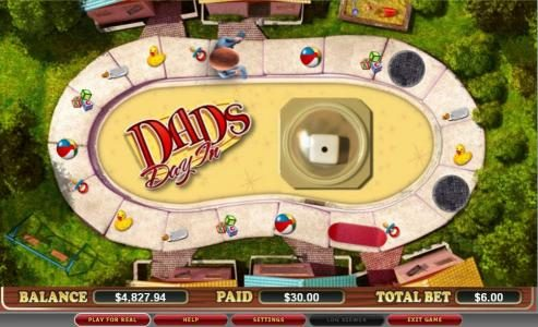 Company featuring the video-Slots Dad's Day In with a maximum payout of $120,000