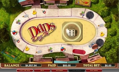 Karamba featuring the video-Slots Dad's Day In with a maximum payout of $120,000