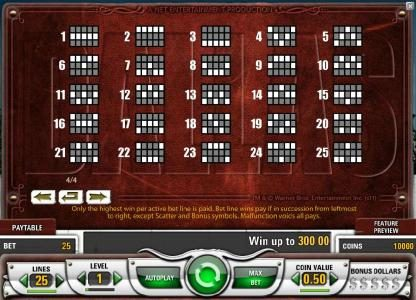 Joker Casino featuring the Video Slots Dallas with a maximum payout of $50,000