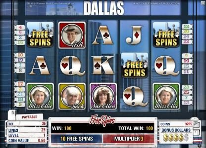 Play slots at Campeon: Campeon featuring the Video Slots Dallas with a maximum payout of $50,000