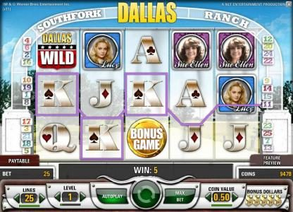 Viggoslots featuring the Video Slots Dallas with a maximum payout of $50,000