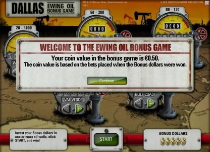 DruckGluck featuring the Video Slots Dallas with a maximum payout of $50,000