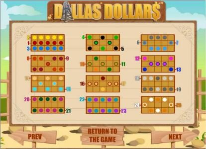 Betchan featuring the Video Slots Dallas Dollars with a maximum payout of $10,000