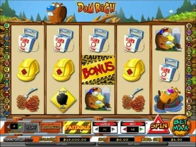 Play slots at Company: Company featuring the Video Slots Dam Rich with a maximum payout of 10,000x