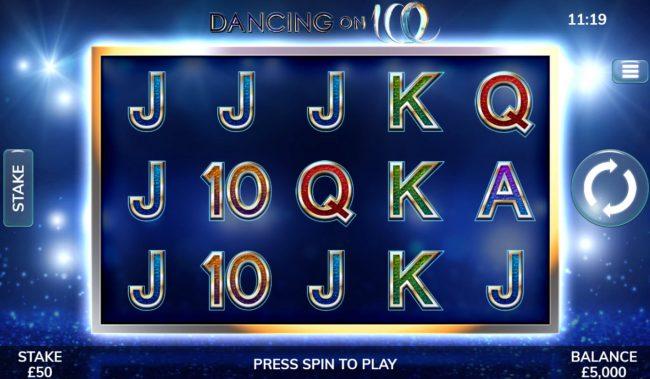 Dancing On Ice :: Main Game Board