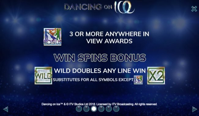 Dancing On Ice :: Wild and Scatter Symbol Rules