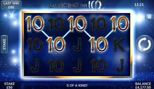 Dancing On Ice :: Five of a Kind