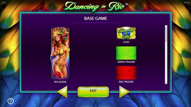 Mega Casino featuring the Video Slots Dancing in Rio with a maximum payout of $250,000