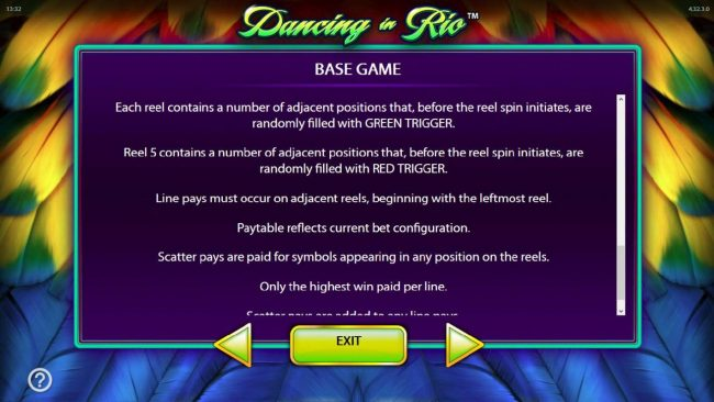 Dancing in Rio :: Base Game Rules