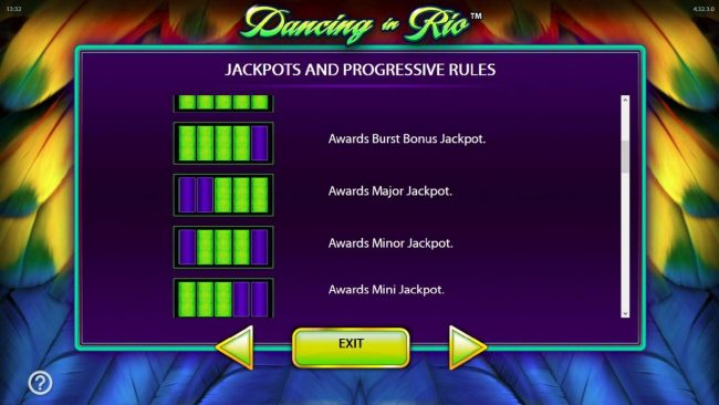 Play slots at All British: All British featuring the Video Slots Dancing in Rio with a maximum payout of $250,000