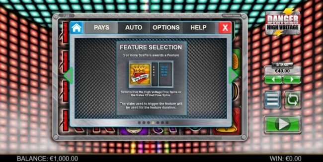 Play slots at Dream Vegas: Dream Vegas featuring the Video Slots Danger High Voltage with a maximum payout of $160,000