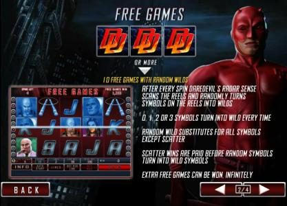3 daredevil symbols awards 10 free games