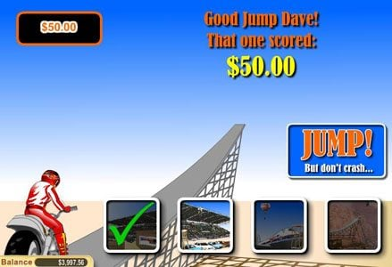Lincoln featuring the Video Slots Daredevil Dave with a maximum payout of $100,000