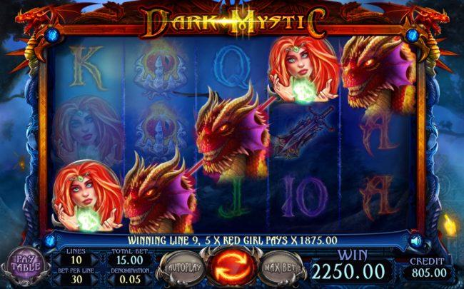 Dark Mystic :: A winning five of a kind