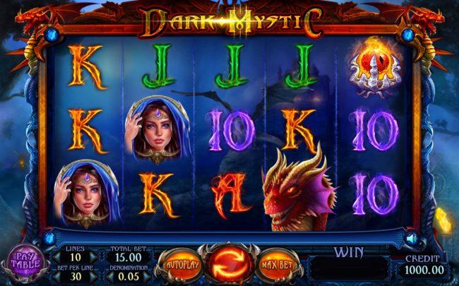 Dark Mystic :: Main Game Board