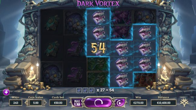 Dark Vortex :: Multiple winning combinations