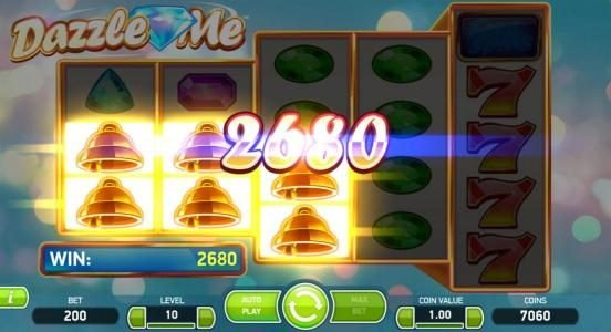 Svedala featuring the Video Slots Dazzle Me with a maximum payout of $152,000