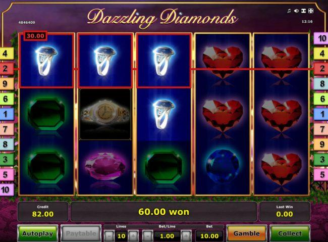 Dazzling Diamonds :: A winning three of a kind