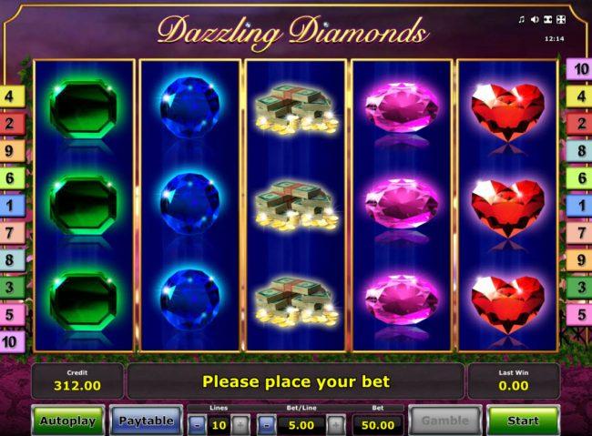 Dazzling Diamonds :: Main Game Board