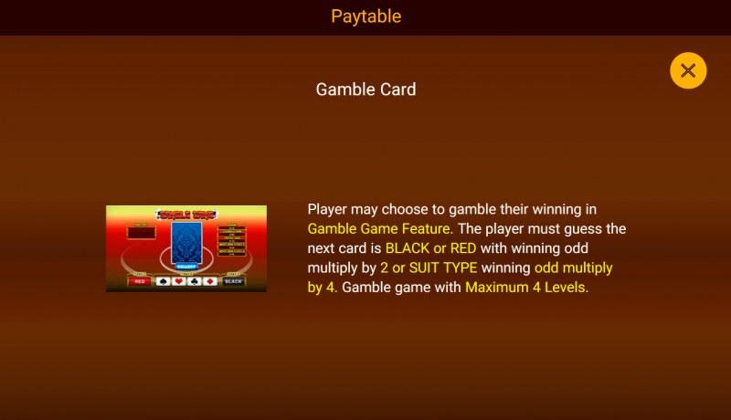 Da Fu Xiao Fu :: Gamble Feature Rules