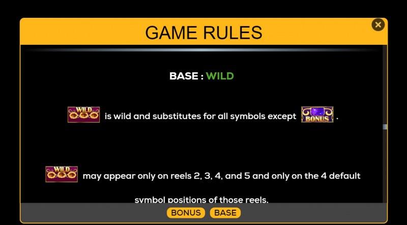 Da Vinci Creations :: Wild Symbol Rules