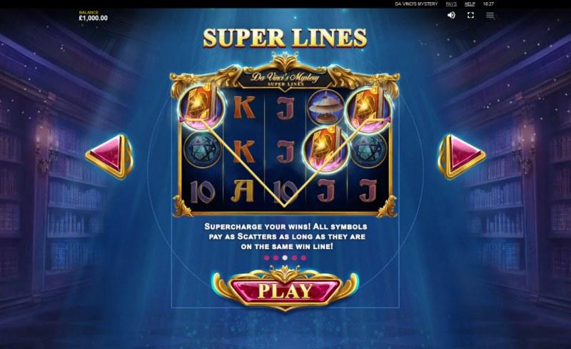 Da Vinci's Mystery Super Lines :: Super Lines