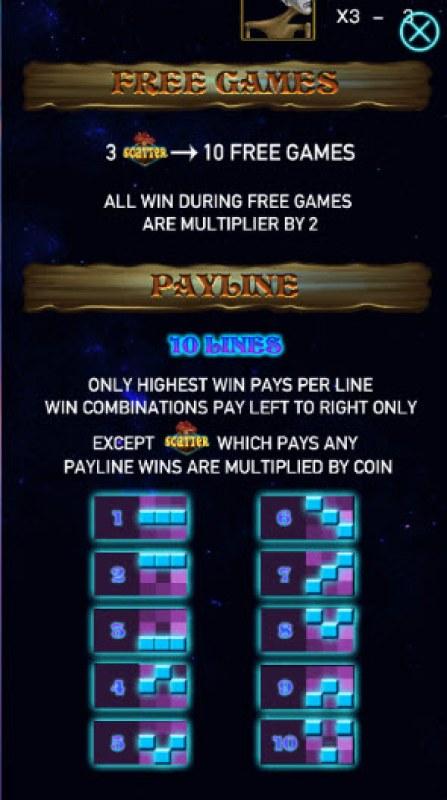 Dalang :: Free Spins Rules